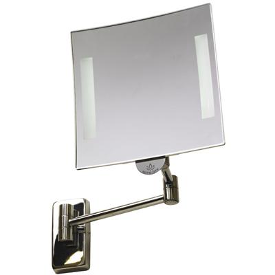 Specchio cosmetico ingranditore illuminato a batteria - Specchi ingranditori illuminati ...