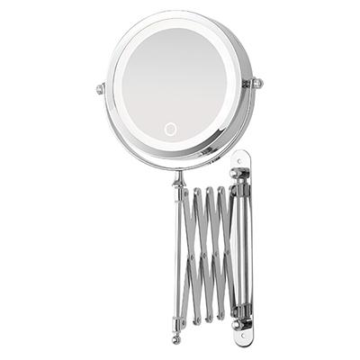Specchio cosmetico illuminato led tondo da parete s1 led illuminati specchi ingranditori e - Specchio tondo da parete ...