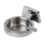 Posacenere con piattino in acciaio inox rimovibile 5175