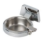 Posacenere con piattino in acciaio inox 5175A
