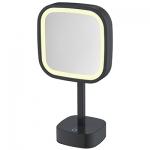 Specchio cosmetico Illuminato LED Quadrato da Tavolo ML-331-MB