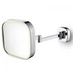 Specchio cosmetico Illuminato LED Quadrato da Parete ML-332-CB