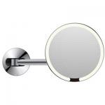 Specchio cosmetico Illuminato LED tondo da Parete M-8881-CP