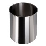 Cestino gettacarte 7 litri acciaio inox 633RVS
