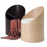 Poltrona tubolare in legno Pultrona