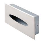 Scatola porta fazzoletti da incasso acciaio satinato 123RVS