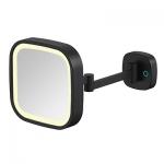 Specchio cosmetico Illuminato LED Quadrato da Parete ML-332-MB