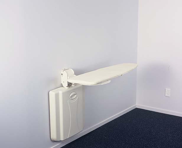 Wall mounted folder ironing boards space saver boards fold away - Ironing board for small spaces decor ...